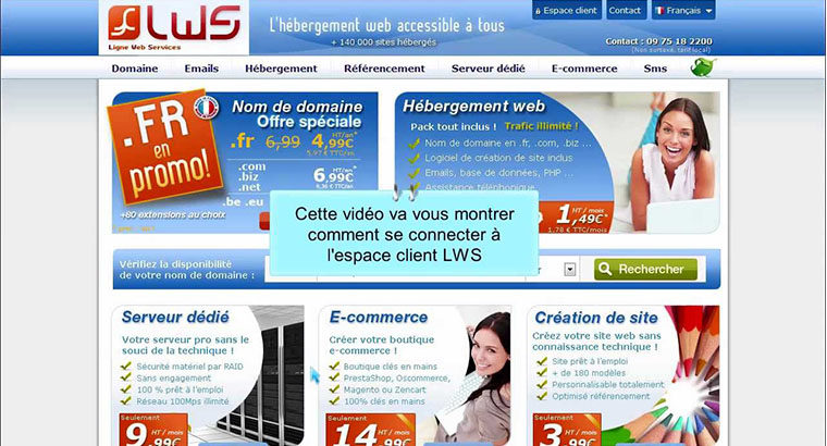 LWS – LIGNE WEB SERVICES